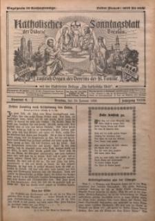 Katholisches Sonntagsblatt der Diöcese Breslau, 1926, Jg. 32, nr 4