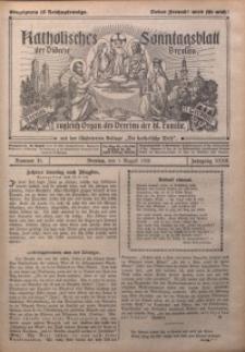 Katholisches Sonntagsblatt der Diöcese Breslau, 1926, Jg. 32, nr 31