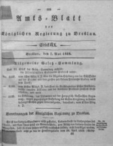 Amts-Blatt der Königlichen Regierung zu Breslau, 1828, Bd. 19, St. 19