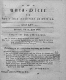 Amts-Blatt der Königlichen Regierung zu Breslau, 1828, Bd. 19, St. 25