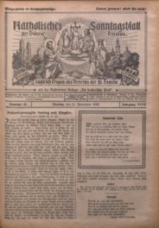 Katholisches Sonntagsblatt der Diöcese Breslau, 1926, Jg. 32, nr 47