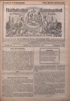 Katholisches Sonntagsblatt der Diöcese Breslau, 1926, Jg. 32, nr 48