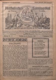 Katholisches Sonntagsblatt der Diöcese Breslau, 1926, Jg. 32, nr 52