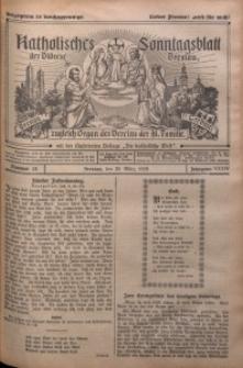 Katholisches Sonntagsblatt der Diöcese Breslau, 1928, Jg. 34, nr 13