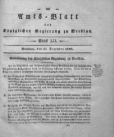 Amts-Blatt der Königlichen Regierung zu Breslau, 1828, Bd. 19, St. 52