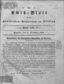 Amts-Blatt der Königlichen Regierung zu Breslau, 1828, Bd. 19, St. 53