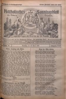 Katholisches Sonntagsblatt der Diöcese Breslau, 1928, Jg. 34, nr 18