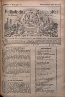 Katholisches Sonntagsblatt der Diöcese Breslau, 1928, Jg. 34, nr 24