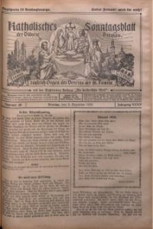 Katholisches Sonntagsblatt der Diöcese Breslau, 1928, Jg. 34, nr 49