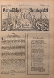 Katholisches Sonntagsblatt der Diöcese Breslau, 1935, Jg. 41, nr 21
