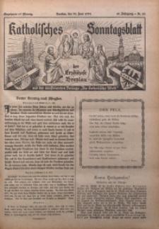 Katholisches Sonntagsblatt der Diöcese Breslau, 1935, Jg. 41, nr 26