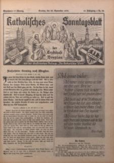 Katholisches Sonntagsblatt der Diöcese Breslau, 1935, Jg. 41, nr 38