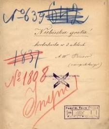 Niebieska grota! Krotochwila w 3 aktach A. W. Pinero, z angielskiego. (9/9 90)