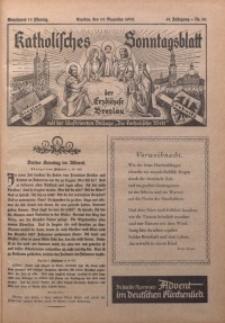 Katholisches Sonntagsblatt der Diöcese Breslau, 1935, Jg. 41, nr 50
