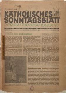 Katholisches Sonntagsblatt der Diöcese Breslau, 1937, Jg. 43, nr 41