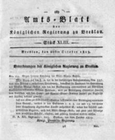 Amts-Blatt der Königlichen Regierung zu Breslau, 1819, Bd. 10, St. 43