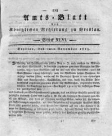 Amts-Blatt der Königlichen Regierung zu Breslau, 1819, Bd. 10, St. 46