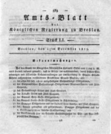 Amts-Blatt der Königlichen Regierung zu Breslau, 1819, Bd. 10, St. 51