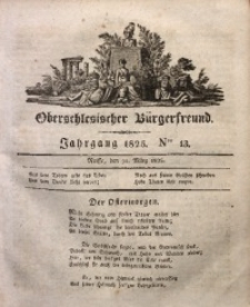 Oberschlesischer Bürgerfreund, 1825, Nro. 13