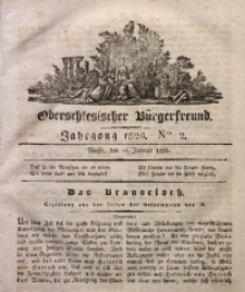 Oberschlesischer Bürgerfreund, 1826, Nro. 2