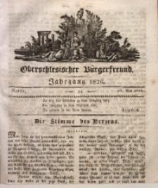 Oberschlesischer Bürgerfreund, 1826, Nro. 21
