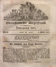 Oberschlesischer Bürgerfreund, 1827, nr 9
