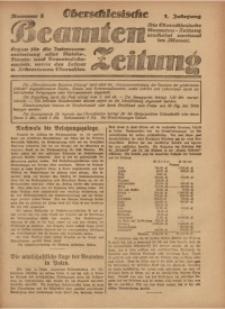 Oberschlesische Beamten Zeitung, 1920, Jg. 1, nr 8