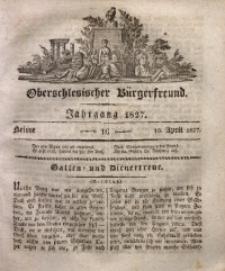 Oberschlesischer Bürgerfreund, 1827, nr 16