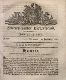 Oberschlesischer Bürgerfreund, 1827, nr 38