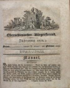 Oberschlesischer Bürgerfreund, 1828, nr 7