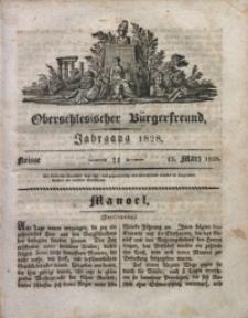 Oberschlesischer Bürgerfreund, 1828, nr 11