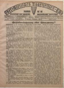 Oberschlesisches Angestellten-Echo, 1929, Jg. 11, nr 11