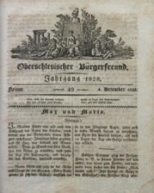 Oberschlesischer Bürgerfreund, 1828, nr 49