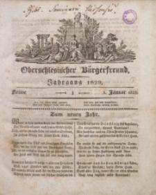 Oberschlesischer Bürgerfreund, 1829, nr 1