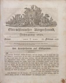 Oberschlesischer Bürgerfreund, 1829, nr 7
