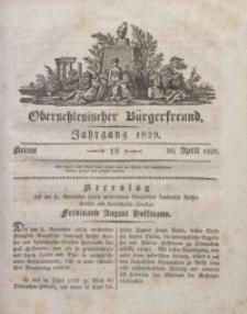 Oberschlesischer Bürgerfreund, 1829, nr 18