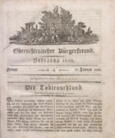 Oberschlesischer Bürgerfreund, 1830, nr 4
