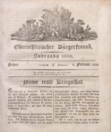 Oberschlesischer Bürgerfreund, 1830, nr 5