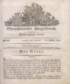Oberschlesischer Bürgerfreund, 1830, nr 11