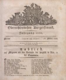 Oberschlesischer Bürgerfreund, 1830, nr 12