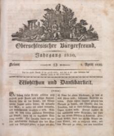 Oberschlesischer Bürgerfreund, 1830, nr 13