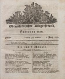 Oberschlesischer Bürgerfreund, 1830, nr 22