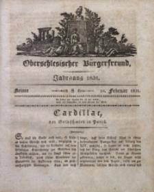 Oberschlesischer Bürgerfreund, 1831, nr 8