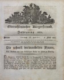 Oberschlesischer Bürgerfreund, 1831, nr 18