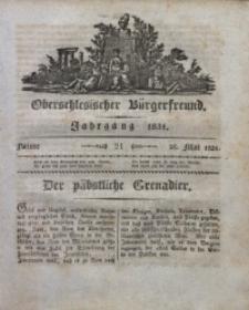 Oberschlesischer Bürgerfreund, 1831, nr 21