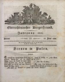 Oberschlesischer Bürgerfreund, 1831, nr 25