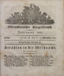 Oberschlesischer Bürgerfreund, 1831, nr 51