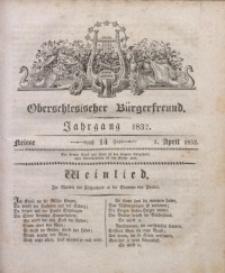 Oberschlesischer Bürgerfreund, 1832, nr 14