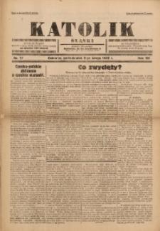 Katolik Śląski, 1932, R. 8, Nr. 17