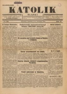Katolik Śląski, 1930, R. 6, Nr. 136